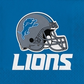 Detroit Lions Luncheon Napkins 192 ct