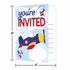 Toy Airplane Invitations 48 ct