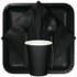 Touch of Color Black Velvet 9 oz Hot & Cold Cups in quantities of 24 / pkg, 10 pkgs / case