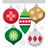 Christmas Ornaments Zippered Sandwich Bags 120 ct