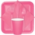 Candy Pink Beverage Napkins 3 ply 500 ct