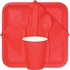 Coral Beverage Napkins 3 ply 500 ct