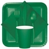 Emerald Green 2 Ply Beverage Napkins 1200 ct