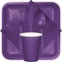 Amethyst Purple 9 oz Hot & Cold Cups 240 ct