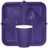 Purple Luncheon Napkins 3 ply 500 ct