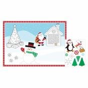 Christmas Paper Activity Placemats 96 ct