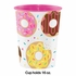 Donut Time Birthday Party 16 oz Favor Cups 12 ct