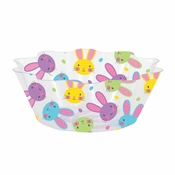 Easter Bunnies Fluted Bowls 12 ct