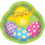 Easter Chick Plastic Trays 12 ct