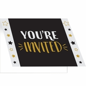 Grad Adventure Invitations 48 ct