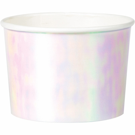 Iridescent Party Treat Cups 72 ct