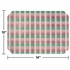 """Pink and Green Classic Weave 9.75"""" x 14"""" Placemat in quantities of 1000 / case"""