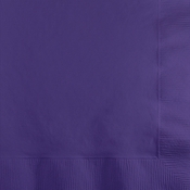 Purple Beverage Napkins 3 ply 500 ct
