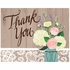 Rustic Wedding Thank You Notes 48 ct
