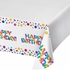 Rainbow Plastic Tablecloths 6 ct
