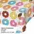 Donut Time Plastic Tablecloths 6 ct