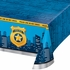 Police Party Plastic Tablecloths 6 ct