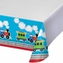 All Aboard Train Plastic Tablecloths 6 ct