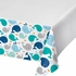 Blue Baby Whale Plastic Tablecloths 6 ct