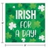Irish Shamrocks Irish for a Day Beverage Napkins 192 ct