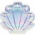 Iridescent Mermaid Party Shaped Dinner Plates 96 ct