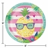 Pineapple Party Dinner Plates 96 ct