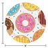 Donut Time Dinner Plates 96 ct