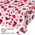 Valentines Day Hearts Plastic Tablecloths 12 ct