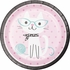 Cat Party Dinner Plates 96 ct