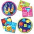 Summer Drinks Lanterns Dessert Plates 96 ct