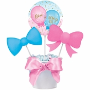 Gender Reveal Balloons DIY Centerpieces Sticks 18 ct