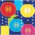 Summer Drinks Lanterns Beverage Napkins 192 ct