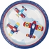 Toy Airplane Dinner Plates 96 ct
