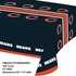 Orange and blue Chicago Bears Tablecloths are sold 1 / pkg, 12 pkgs / case