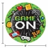 Video Games Party Dinner Plates 96 ct