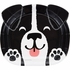 Dog Party Shaped Dinner Plates 96 ct