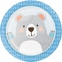 Bear Party Dinner Plates 96 ct