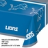 Detroit Lions Plastic Tablecloth 12 ct