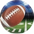 Football Party Dinner Plates 96 ct