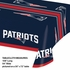 Red, white and blue New England Patriots Tablecloths are sold 1 / pkg, 12 pkgs / case