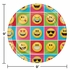 Show Your Emojions Dinner Plates 96 ct