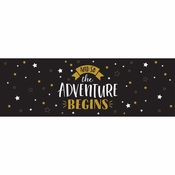 Grad Adventure Banners 6 ct
