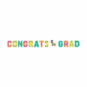 Fiesta Fun Shaped Grad Banners 12 ct