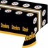 Black, white and gold Pittsburgh Steelers Tablecloths sold in quantities of 1 / pkg, 12 pkgs / case