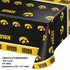 University of Iowa Plastic Tablecloths 12 ct