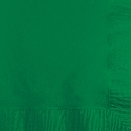 Emerald Green Beverage Napkins 3 ply 500 ct