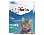 Comfortis for Cat (Green) 5.5kg - 11.2kg (12 - 24lbs) - 3 month pack.