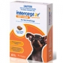Interceptor spectrum chews for Dogs upto 4kg = up to 9lbs 6 pack