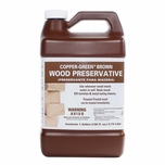 Copper Green Brown Gallon Wood Preservative 33001