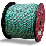 """Continental Western 7/16"""" x 600' Blue Steel Truck Rope Rope 405410"""